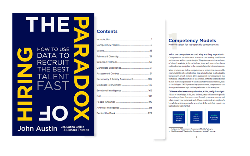 Preview of The Paradox of Hiring book